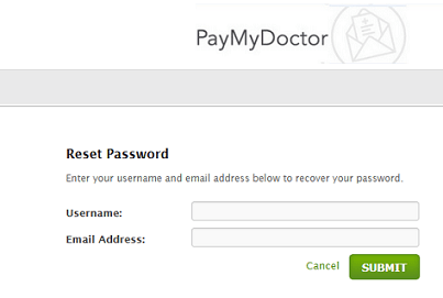 PayMyDoctor Payment Online