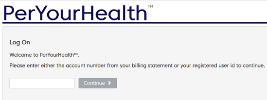 PerYourHealth Login