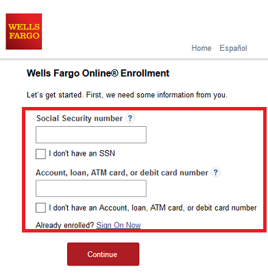 Wells Fargo Card Registration Login And Activation At www