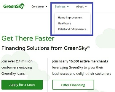 GreenSky Online Pay