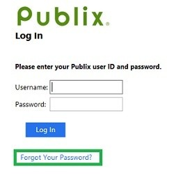 Login Publix employee