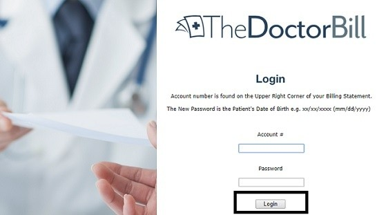 TheDoctorBill Login