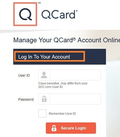 QVC Card Login